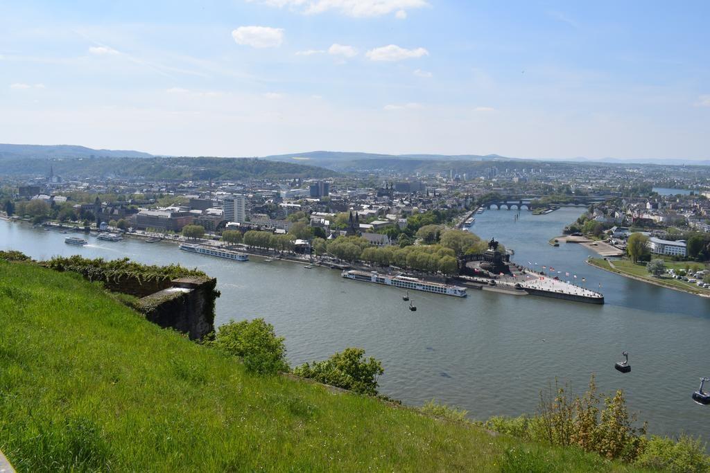 Seilbahn Koblenz zur Festung Ehrenbreitstein