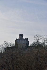 Ausflugsziel Burg Pyrmont im März 2017