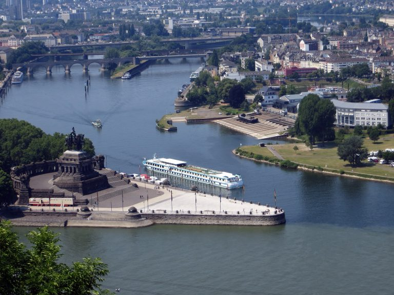 Ausflugsziele Koblenz und Umgebung, z.B. Deutsches Eck