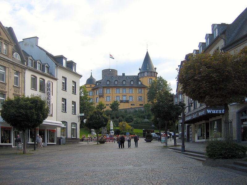 Marktplatz der Eifelstadt Mayen. Nur einen Steinwurf von Mertloch entfernt.