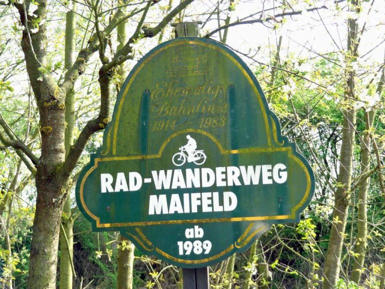 Maifeldradweg Mertloch