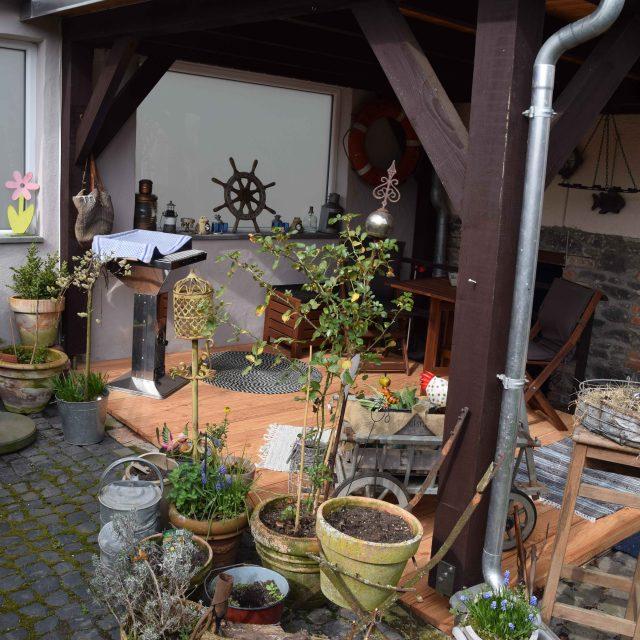 Grill und Garten Ferienwohnung Vogt Mertloch 2