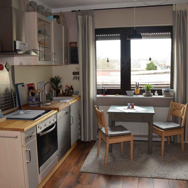 Küche Ferienwohnung Vogt in Mertloch, Urlaub auf dem Maifeld zwischen Eifel und Mosel